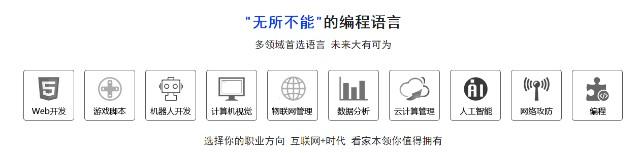 北京人工智能+python培训